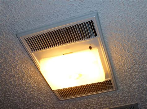 how to change light bulb in nutone bathroom fan mr fix it heats up the bathroom meador org