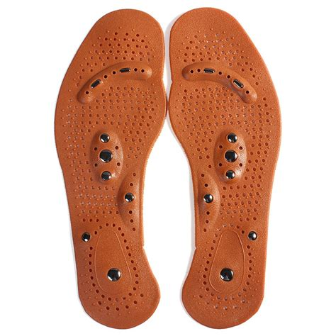 Sandal Refleksi Acupunture Magnetic Kongsui Promoo aliexpress buy magnetic insole care footbed magnetotherapy foot magnet therapy