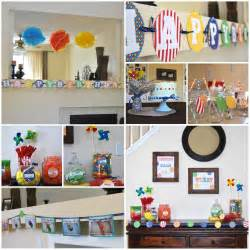 picnic party first birthday decorations