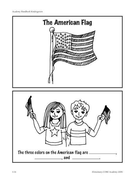 american flag coloring page for first grade the pledge of allegiance kindergarten nana