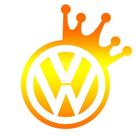 volkswagen logo vector vwkingsclub gold logo vector by sufyanzeroual on deviantart