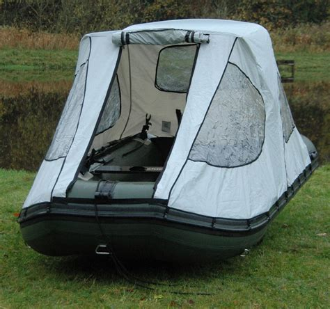 bimini boat house bison marine bimini cockpit tent canopy for inflatable boat boats sup fishing mad