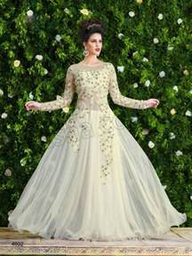 young girls latest gaun fashion fok anarkali net gown style frock suits latest