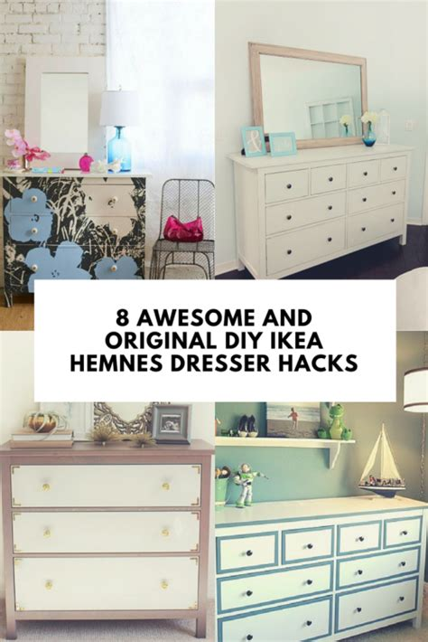 Ikea Hack Kitchen Island by 8 Awesome And Original Diy Ikea Hemnes Dresser Hacks