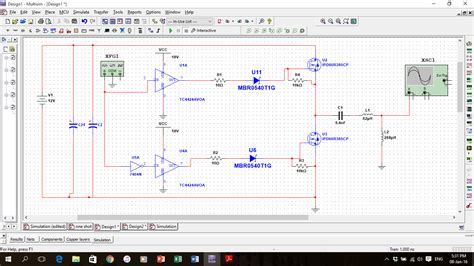 diode bridge in multisim half bridge rectifier using power mosfet discussion forums national instruments