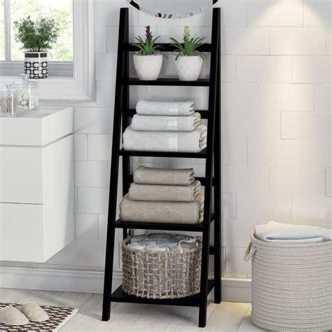 bathroom free standing shelves best 25 free standing shelves ideas on