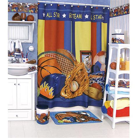 sports bathroom decor kids bathroom sets furniture and other decor accessories