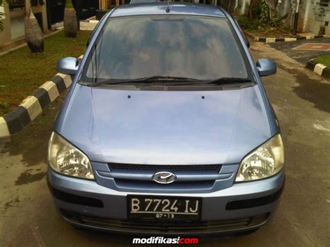Lu Depan Mobil Hyundai Getz for sale hyundai getz blue manual 2005 dp ringan