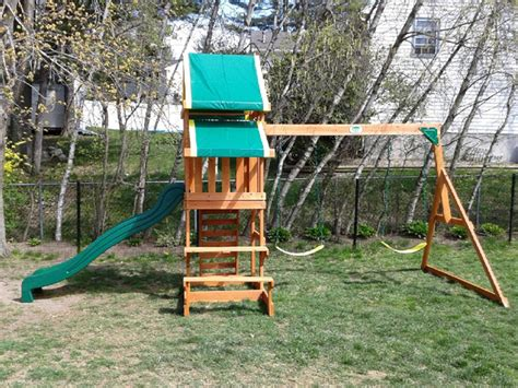 backyard discovery tucson cedar swing set backyard discovery tucson cedar wooden swing set outdoor goods