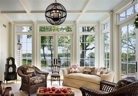sunroom ceiling ideas sunroom victorian  french doors