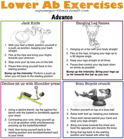 advanced lower ab exercises health fitness lower abs to work and exercise
