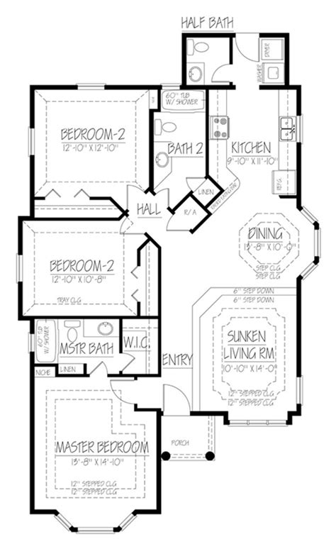 ranch house plans mackay 30 459 associated designs ranch style house plan 3 beds 2 5 baths 1403 sq ft plan