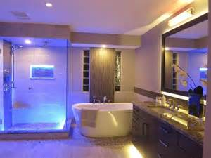 Bathroom Led Lighting Ideas by Amazing Bathroom Blue Led Lights Decors Ideas In Ceiling