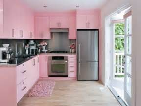 bloombety modern kitchen color schemes with pink mat
