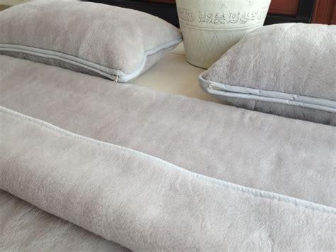 Alpaca Wool Comforter by Alpaca Wool Bedding Silver Exclusive 160x200