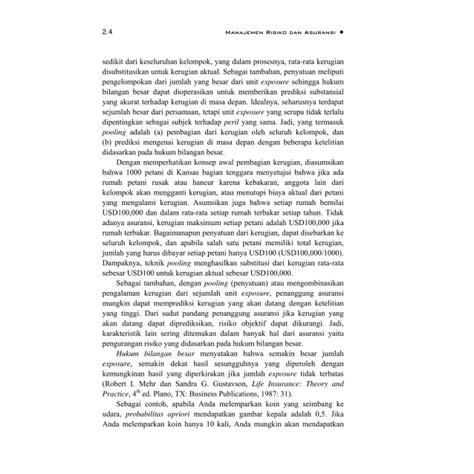 Pokok Pokok Hukum Asuransi bmp adbi4211 manajemen resiko dan asuransi