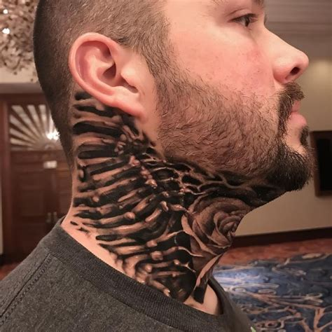 biomechanical tattoo neck biomechanical tattoos designs best ideas for you