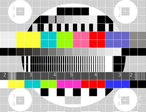 color pattern quiz idea studio television and video test patterns