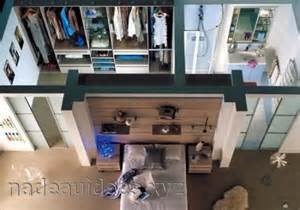 chambre avec dressing et salle de bain plan peinture