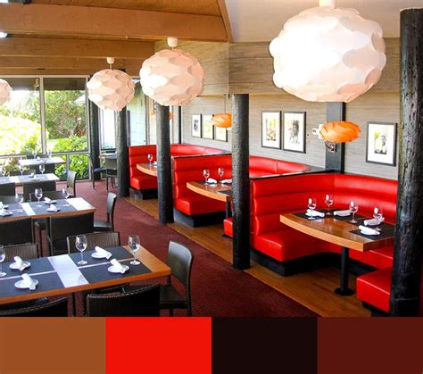 Restaurant Interior Designers by 30 Restaurant Interior Design Color Schemes