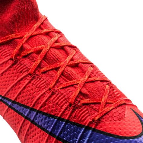 Nike Mercurial Superfly Fg Bright Crimson Flyknit nike mercurial superfly fg bright crimson violet