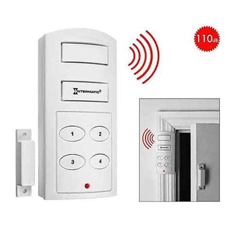 Alarm Pintu Doorwindow Entry Alarm wireless door alarm with programmable keypad