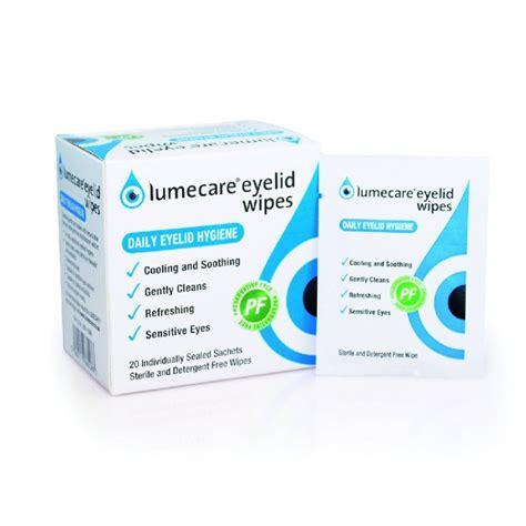 eye wipes lumecare eye lids wipes butterflies eyecare