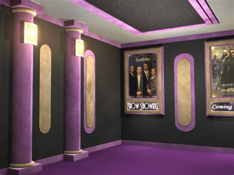 emperor home theater wall accents design bookmark