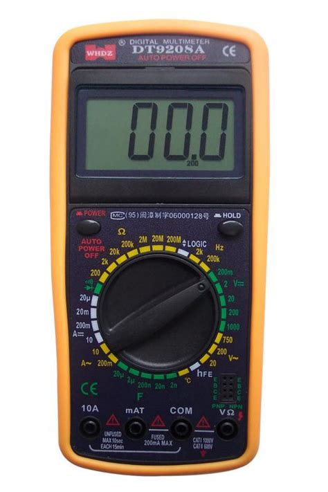 Pocket Size Digital Multimeter Dt832 china digital multimeter dt9208a 3 1 2 photos pictures