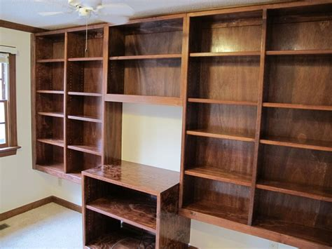 Handmade Bookshelf - charming pictures of book shelves exposed handmade built