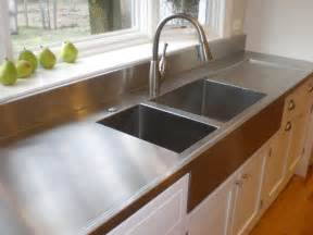 Stainless Steel Countertops A Guide To 7 Popular Countertop Materials Diy
