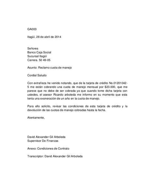 lettere reclamo carta 3 reclamo comercio