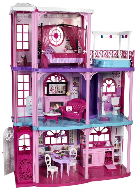 barbie houses new playline updates dreamhouse play park barbie the princess and the popstar