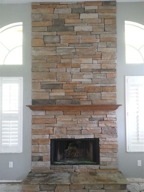Installing Cultured Fireplace by Built In Fireplace Shelf An Installation How To Morton