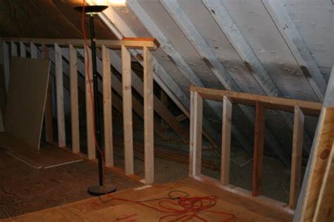 attic knee wall framing framing an attic wall image balcony and attic