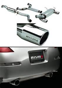 Nissan 350z Nismo Exhaust Nismo S Tune Catback Exhaust System 350z 03 04