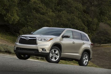 2015 Toyota Highlander Specs 2015 Toyota Highlander Review Ratings Specs Prices And