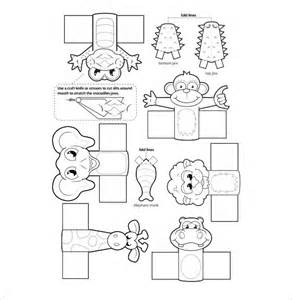 puppet template printable finger puppet templates printable template 2017