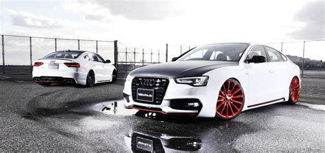 audi a5 modified wald audi a5 sportback modification kit autos world blog