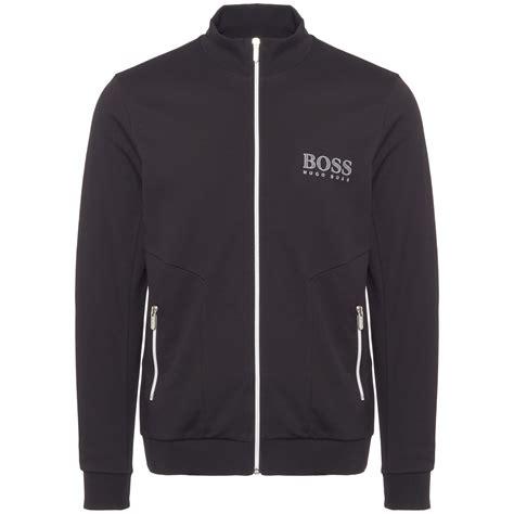 Tracksuit Jacket hugo black tracksuit jacket 50378254 au stockists
