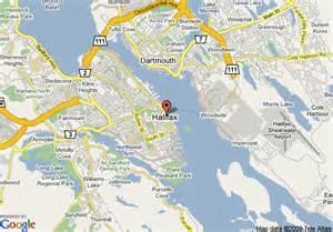 map halifax canada map of radisson suite hotel halifax halifax