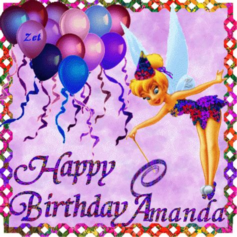 Happy Birthday Amanda And Leona by Glitter Graphics The Community For Graphics Enthusiasts