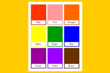 color flash cards color flash cards pictures to pin on pinsdaddy