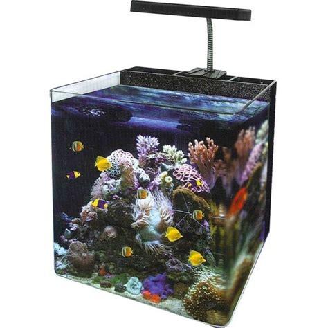 nano reef aquarium lighting marine reef aquarium nano fish tank cube with slim led