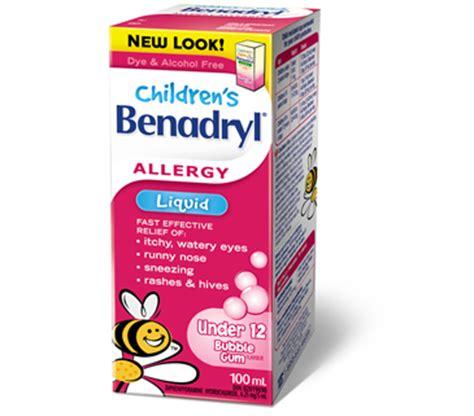 benadryl for allergies can babies use benadryl new center