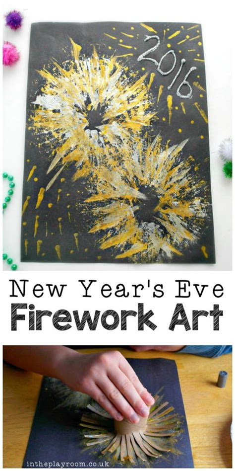 new year crafts with paper new year s fireworks craft fireworks craft