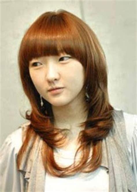 model rambut yang diwarnai contoh model gaya rambut wanita korea berita terkini