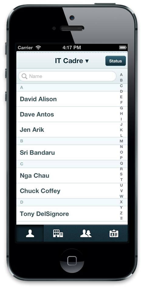 Iphone List Employee Lists On Your Iphone Or Android With Easygrouper