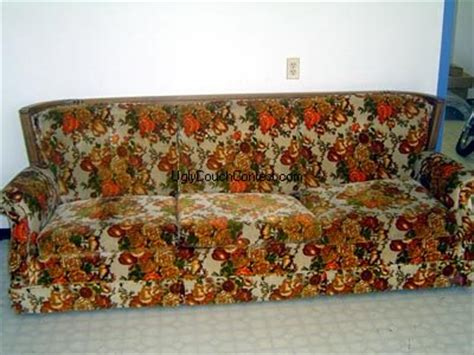 ugliest sofa ever world s ugliest couch contest 2009 sponsored by simply spray