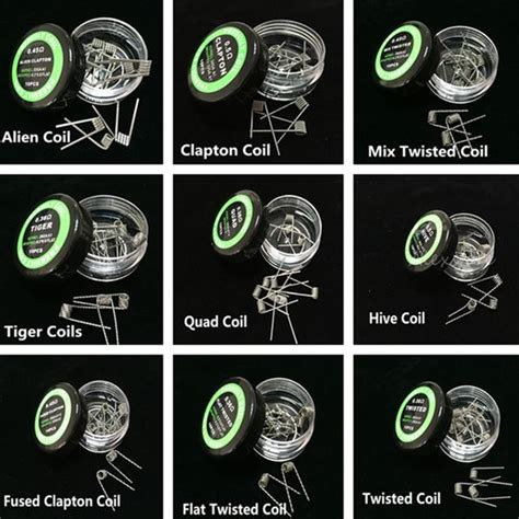 Flat Twisted Coil pre wrap coil wire hive coils flat twisted wire